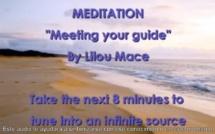 Meditacion guiada y visualizacion. Encuentro con el guia por Lilou